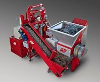 recycling machinery Compact Matrix 150 T